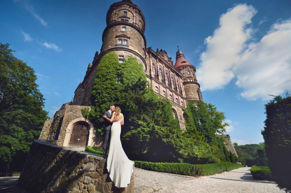 Niesamowita sesja plenerowa - Zamek Książ